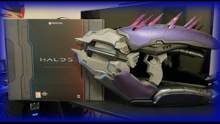 Halo 5: Guardians Limited Collector's Pink Mist Edition Unboxing