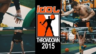 PART 2 - Кроссфит турнир IDOL THROWDOWN 2015. ACTION! Crossfit IDOL #10