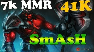 Dota 2 - SmAsH 7k MMR PRO AXE vol 1# - Gameplay
