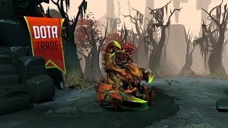 Warrior of the Red Sand Sand King set review Dota 2