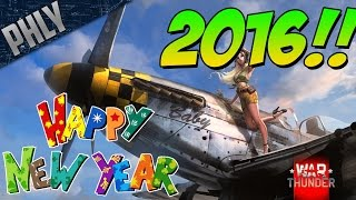 HAPPY NEW YEAR! Best and Worst of 2015- (War Thunder)