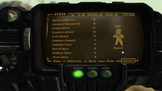 Fallout 3 Karma Cheat, Pipboy 3000 Proof.