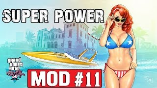 Обзор модов GTA Vice City #11 - Супер сила / Super power
