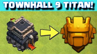 Clash of Clans TOWN HALL 9 TITAN LEAGUE ATTACK STRATEGY + Base Layout | Quest to 4000 Continues