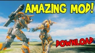 Halo 4 Amazing Mod - Slow Mo Assassinations - Rapid Fire Vehicles and More!