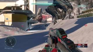 Halo 5: Guardians Typhon Hydra Short Gameplay BS Spawns