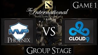 Dota 2 The International 2015 MVP Phoenix vs Cloud 9