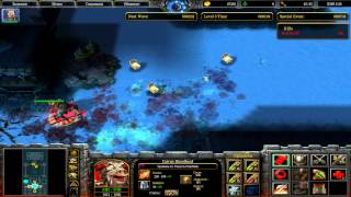 Warcraft III Frozen Throne интересная карта X Hero Siege 3.33 №1