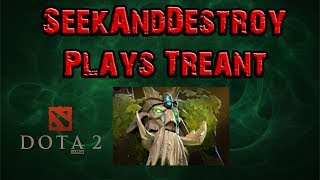 DOTA 2 Late Night Gameplay- Let's play Treant Protector Ep.130