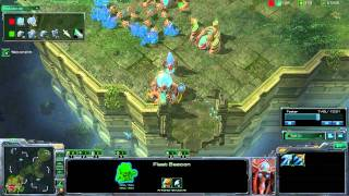 StarCraft 2 - [P] Mothership Rush! - Strategy