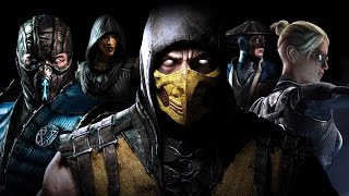 Mortal Kombat X PC Custom Skins Collection Showcase