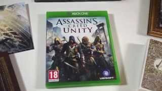 Assassin's Creed Unity: Guillotine Edition (Гильотина) — Распаковка издания для Xbox One