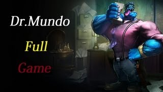 League of Legends Mundo Jungle full game comments мундо в джунглях как слон в посудной лавке!