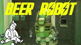 Beer Robot for ANY Settlement | Fallout 4
