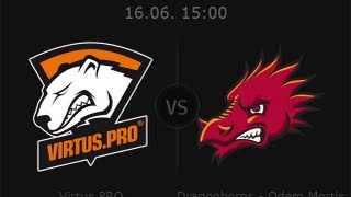 Virtus.pro vs. Dragonborns Полу-финал WOT Pro League #DHS2013