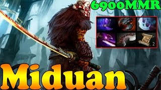 Dota 2 - Miduan 6900 MMR Plays Jugggernaut Vol 1 - Pub Match Gameplay!