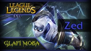 Гайд Зед Лига Легенд - Guide Zed League of Legends - ЛоЛ Гайд Зед