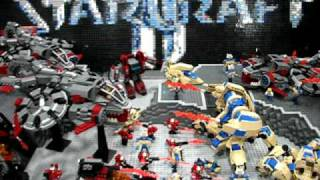 Starcraft II Lego - the battle continues!