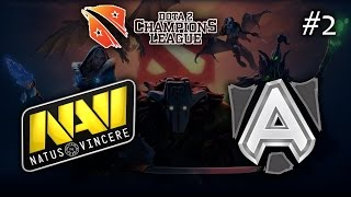 Na`Vi vs Alliance #2 | D2CL S5 (09.03.2015) Dota 2