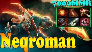Dota 2 - Neqroman 7000 MMR Plays Huskar Vol 1 - Ranked Match Gameplay!