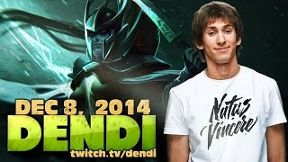 Dota 2 Stream: Na`Vi Dendi - Phantom Assassin (Gameplay & Commentary)