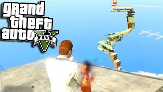 GTA 5 Funny Moments - PARKOUR CHALLLENGE GTA 5 Online - (GTA 5 Funny Moments) GTA 5 Gameplay