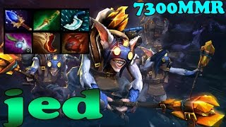 Dota 2 - jed Top 1 MMR Se Asia Plays Meepo Vol 2# - Ranked Match Gameplay!