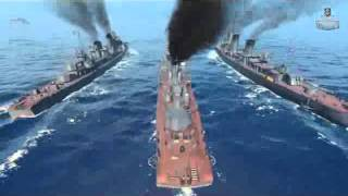 World of Warships - the Soviet destroyers Сегмент 1