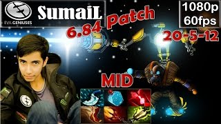 SumaiL (EG) - Tinker MID Pro Gameplay | 6.84 Patch | MMR [Dota 2 Pro] @60fps #3