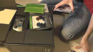 XBox One Halo 5 Guardians Limited Edition Unboxing - German/Deutsch [HD+]