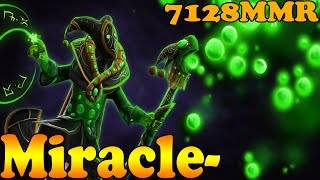 Dota 2 - Miracle- 7128 MMR Plays Rubick VOl 4# - Ranked Match Gameplay!