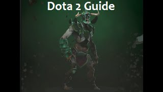 Dota 2 Guide for Undying # 26 / Гайд на зомби