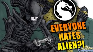 EVERYONE HATES ALIEN?!: Mortal Kombat X Online Matches
