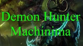 WOW Legion machinima - Demon hunter (русский)