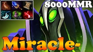 Dota 2 - Miracle- 8000 MMR Plays Rubick - Full Game - Ranked Match Gameplay