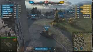 World of Tanks - NA'VI vs PANDAS Golden Ligue 1 сезон 2 тур 22.05.2014