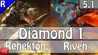 2193: Sickmotion as Renekton vs Riven Top - S5 Preseason Diamond 1 Ranked