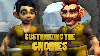 World of Warcraft: Warlords of Draenor Beta - Customizing the gnome (male and female)