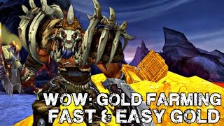 WoW: Gold Farming - How To Make 3000 -7000 Gold EASY (Warlords of Draenor)