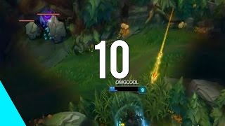 10 AMAZING Snipes 2013-2015 | Competitive  (League of Legends)