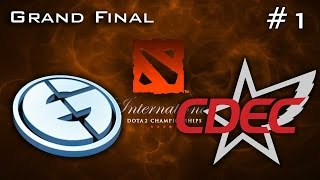 EG vs CDEC #1 | The International 2015 Grand Final