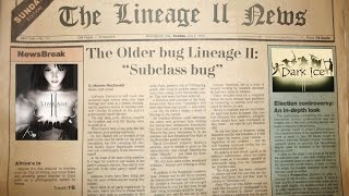 Bugs Lineage 2 - The Older bug subclass (Старый баг на сабклас)