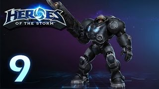 Heroes of the Storm: Jim Raynor - Gameplay #9 (w/ 4 man team)