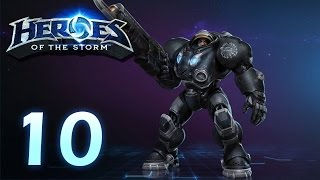 Heroes of the Storm: Jim Raynor - Gameplay #10 (w/ 4 man team)