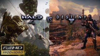 Halo 4 vs Destiny Graphics Comparison 1080p HD BUP
