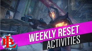 Destiny Weekly Reset November 1st 2016 NIGHTFALL, Strikes, Artifacts, Tyra Karn, Shaxx Bounties RAID