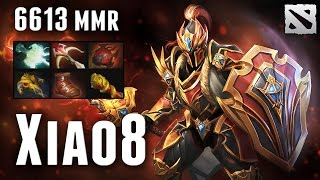 Xiao8 Dragon Knight 6613 MMR China Pub Dota 2