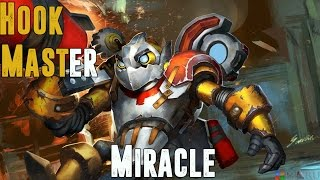 Dota 2 - Miracle- 8000MMR The Hook Master Plays Clockwerk - Full Game Play - Ranked Match