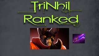 Dota 2 TriNhil Doom Jungle Ranked