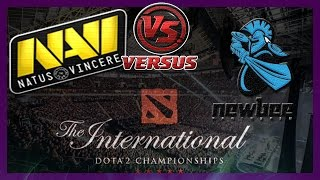 NaVi vs NewBee bo1 International 2014 Dota 2 #ti4 RUS